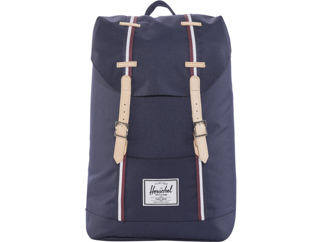 Herschel Retreat Backpack 19,5l Unisex, peacoat/windsor wine/white | Travel bags